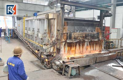 Steel Profile material Heating Equipment